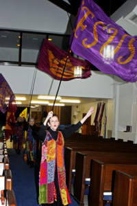 Flags in worship