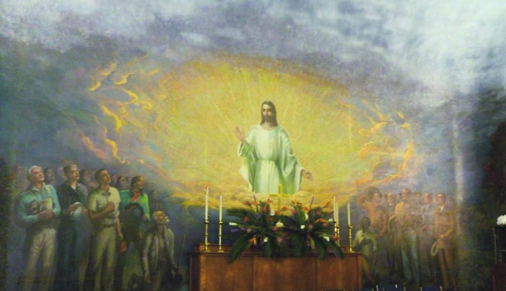 Redeemer mural